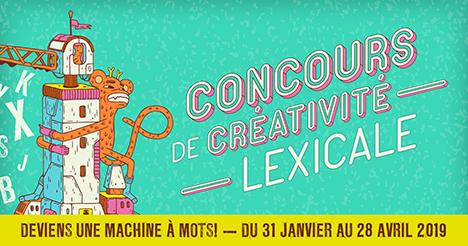 Concours de créativité lexicale – Deviens une machine à mots!